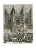The Great Organ at the Royal Albert Hall Giclee Print