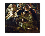 The Ecstasy of St. Francis Giclee Print by Sigismondo Coccapani
