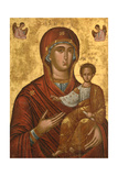 Byzantine Art. Greece. Virgin Hodegetria. Icon. Greece Giclee Print