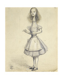 Curioser and Curioser' Giclee Print by John Tenniel
