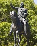 George Washington Statue at Union Square Park Photographic Print