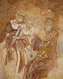 Fresco in the Church of Agios Nicholas, Demre, Turkey Photographic Print
