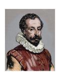 Cervantes, Miguel De (1547-1616). Spanish Novelist, Poet, and Playwright Giclee Print