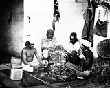 Horsekeepers, or 'Ghorawallahs', C.1860s Photographic Print by Willoughby Wallace Hooper