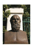 Aeschylus (525-456 BC). Bust Contemporary of Aeschylus. Athens. Central Greece Giclee Print