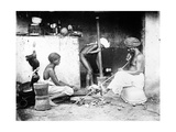 An Indian Kitchen, C.1870s Photographic Print by Willoughby Wallace Hooper