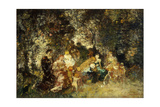 Fete Champetre Giclee Print by Adolphe Joseph Thomas Monticelli