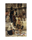 The Fan Seller, 1882 Giclee Print by Franz Leo Ruben