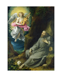 The Ecstasy of St. Francis of Assisi, C.1593 Giclee Print by Guiseppe Cesari