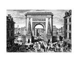 La Porte Saint-Denis Giclee Print by Adam Perelle