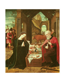 The Nativity Giclee Print by  Master of the Female Half Lengths