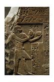 Egyptian Art. Stela of King Intef II Wahankh. First Intermediate Period. 11th Dynasty. Ca. 2108… Giclee Print