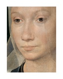 Detail of Portrait of a Young Woman, 1480 Giclee Print by Hans Memling