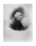 Sir William Hamilton, Engraved by William Thomas Fry, 1817 Giclee Print by Charles Grignion