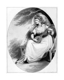 Elizabeth Farren in the Role of Olivia, C.1785 Giclee Print by Edward Francis Burney