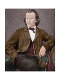 Johannes Brahms (1833-1897) Giclee Print