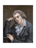 Schiller, Johann Christoph Friedrich Von (1759-1805). German Poet, Philosopher, Historian, and… Giclee Print