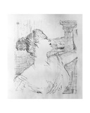 Sibyl Sanderson, 1898 Lámina giclée por Henri de Toulouse-Lautrec