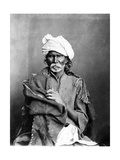 Portrait of an Indian Man, from 'The Costumes and People of India', C.1860s Photographic Print by Willoughby Wallace Hooper