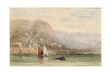 View of Barmouth, North Wales Giclee Print by David Cox