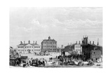 Old Liverpool Infirmary and Alms-Houses, with John Cooke's Circus in the Foreground, C.1826 Giclee Print by William Gavin Herdman