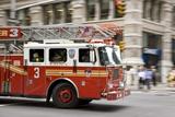 Fire Engine, New York Reprodukcja zdjęcia