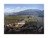 The Vineyard of Erranzuriz-Panquehue, Chile, 1896 Giclee Print by Daniel Escobar