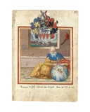 Page from the Album Amicorum of Salomon Schweigger Von Sulz, 1576-1608 Giclee Print
