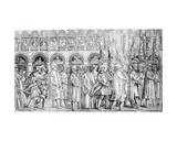 Dogal Procession, C.1555-60 Giclee Print by Matteo Pagani