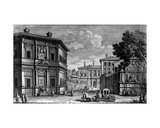 View of the Casino Della Vigna and the Villa Giulia Beyond, C.1761 Giclee Print by Giuseppe Vasi