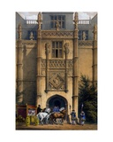 The Arch, Montacute House, Somerset, from 'Architecture of the Middle Ages', 1838 Giclee Print by Joseph Nash
