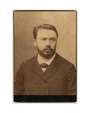 Gustave Geffroy, Late 19th Century Giclee Print by  Nadar