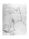Woman Washing Herself at a Basin, 1896 Lámina giclée por Henri de Toulouse-Lautrec