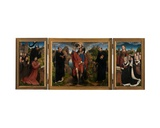 Triptych of Willem Moreel, 1484 Giclee Print by Hans Memling