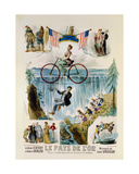 Poster Advertising 'Le Pays D'Or' ('The Land of Gold'), C.1880 Giclee Print by Louis Lemaresquier
