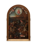 Central Panel of the Last Judgement Giclee Print by Hieronymus Bosch