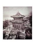 Overgrown Pagoda, C.1855-65 Giclee Print by John Thomson