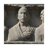 The Appian Way. Funerary Monument. Deceaseds. Relief. Rome. Italy Giclee Print