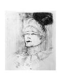 Jeanne Granier, 1898 Giclee Print by Henri de Toulouse-Lautrec