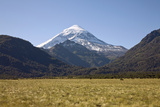 View of Volcan Lanin Photographic Print