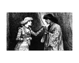 Miss Ellen Terry as Desdemona and Mr. Irving as Othello Giclee Print