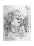 Anna Held, 1898 Reproduction procédé giclée par Henri de Toulouse-Lautrec