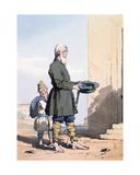 Finland Beggar Giclee Print by John Augustus Atkinson