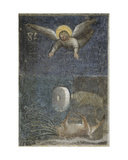 Angel Kills the Beast with a Rock as Big as a Milestone from Apocalypse: Descent of the Holy Ghost Giclee Print by Giusto Di Giovanni De' Menabuoi