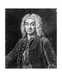 John James Heidegger, Engraved by John Faber, 1749 Giclee Print by Jean-Baptiste van Loo