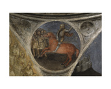 Red Horse (The Second Seal) from Apocalypse: Descent of the Holy Ghost Giclee Print by Giusto Di Giovanni De' Menabuoi