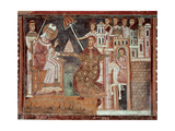 Constantine I the Great (285-337). Roman Emperor. The Donation of Constantine Giclee Print