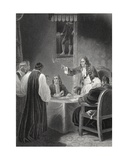 The Bishops before the Privy Council, 1688, Engraved by A.H. Payne Giclee Print by Robert Smirke
