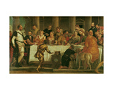 The Wedding at Cana Giclee Print by Paolo Veronese
