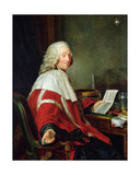 Monsieur De Calonne, First President of the Parliament of Flanders in Douai, 1790 Giclee Print by Laurent Dabos
